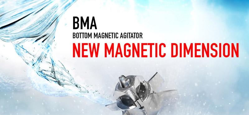 INOXPA präsentiert die neue Produktreihe der Magnetrührwerke BMA