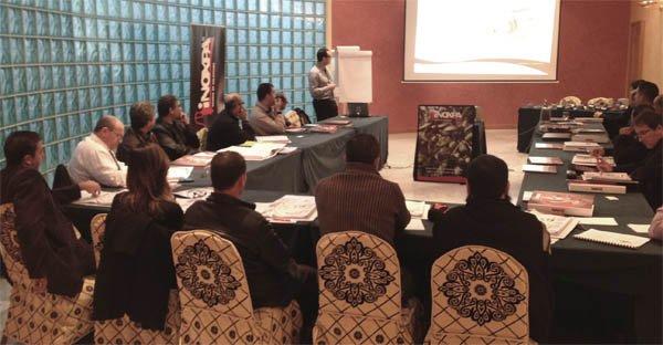 Sales meeting in Algeria