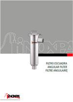 Katalog mit Abmessungen: Angular filter