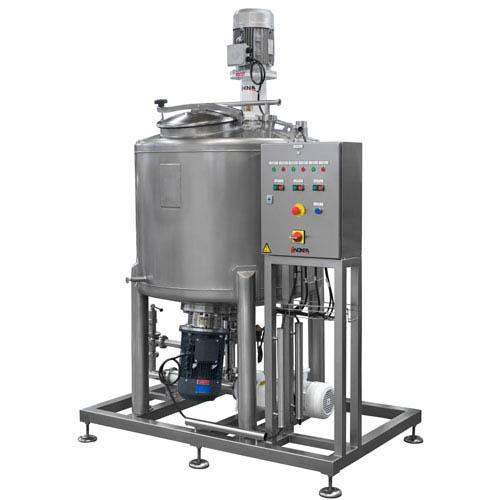 Anlage für die Herstellung von hydroalkoholischem Gel