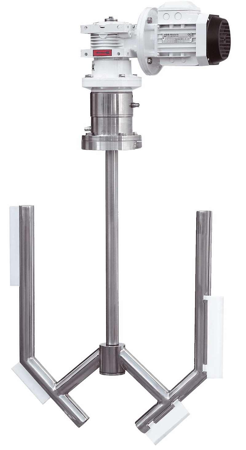 Vertikalrührwerke mit Gleitringdichtung